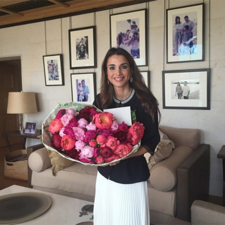 queen rania jordan royal family