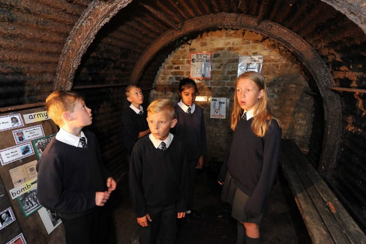 Anderson Shelter Turned into Learning Space for Students