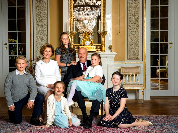 norwegian royal family norway