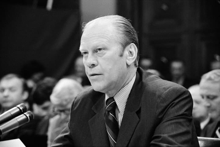 Gerald Rudolph Ford Jr., richest US presidents