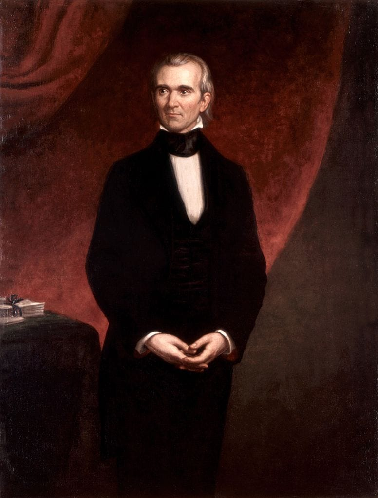 James Knox Polk, richest US presidents