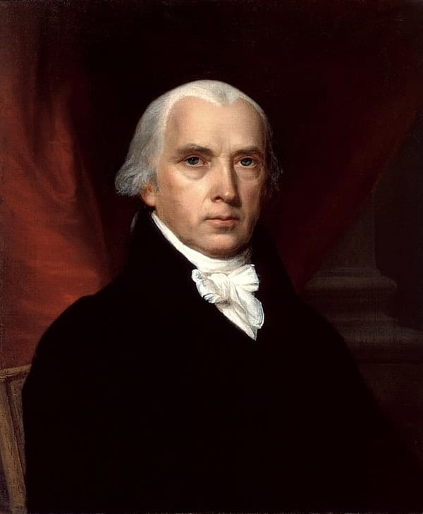 James Madison, richest US presidents