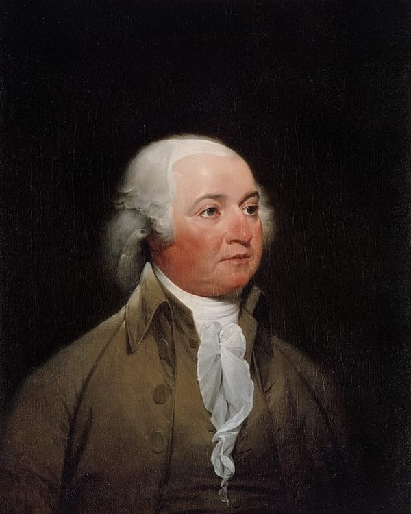 John Adams, richest US presidents