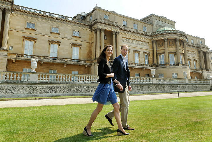 Duke and Duchess of Cambridge on the Way to Honeymoon