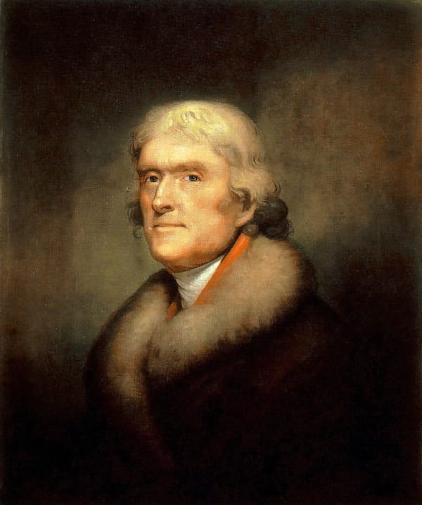 Thomas Jefferson, richest US presidents