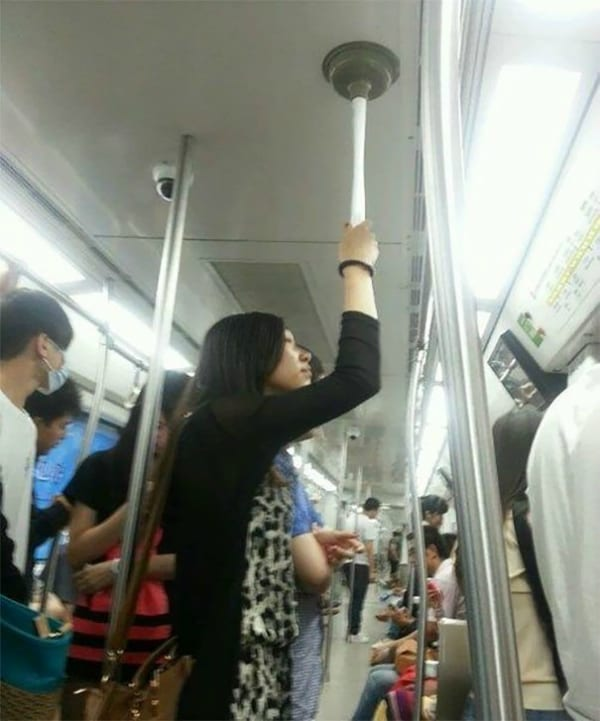 plunger subway moments unique funny