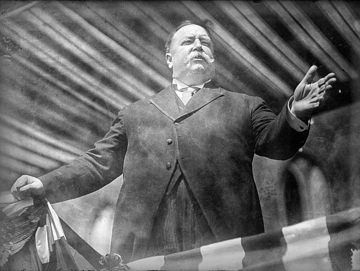 william howard taft, richest presidents