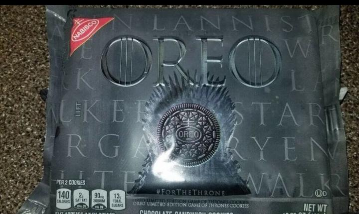 Nabisco Announces Special Edition Game Of Thrones Oreos Most