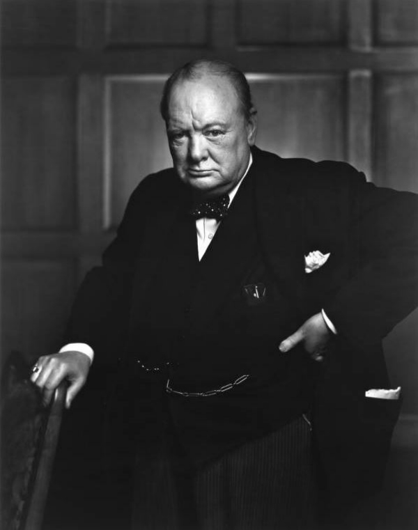Winston Churchill Photo Backstory