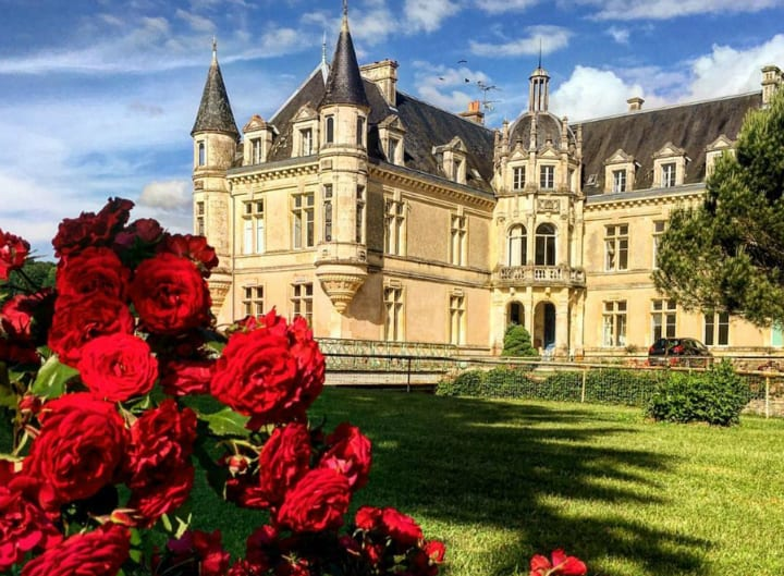 chateau roses france french