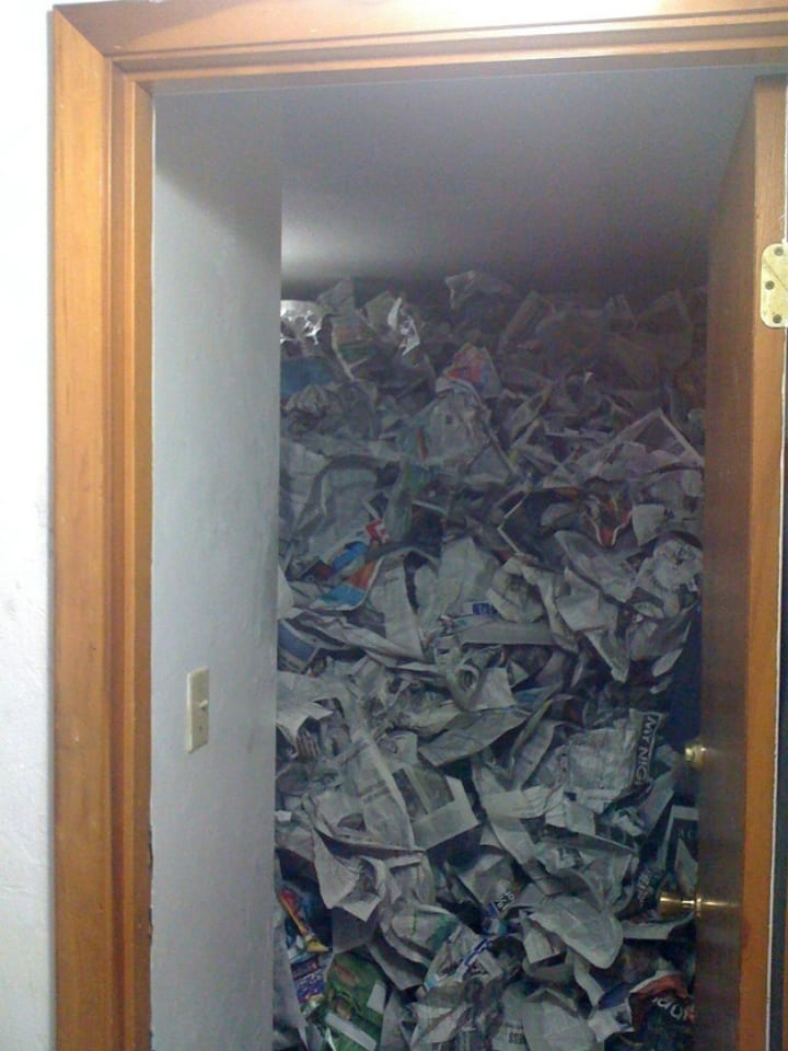 newspaper roommate prank