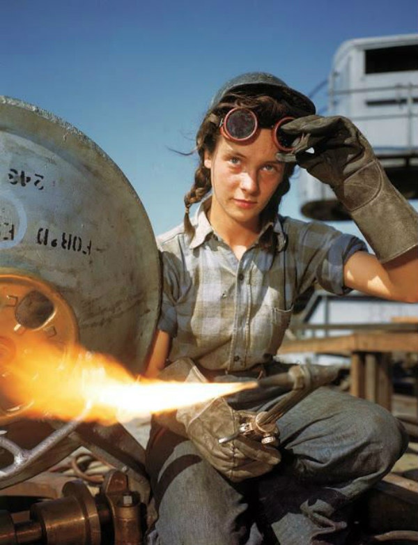 welder welding mom working cool parents