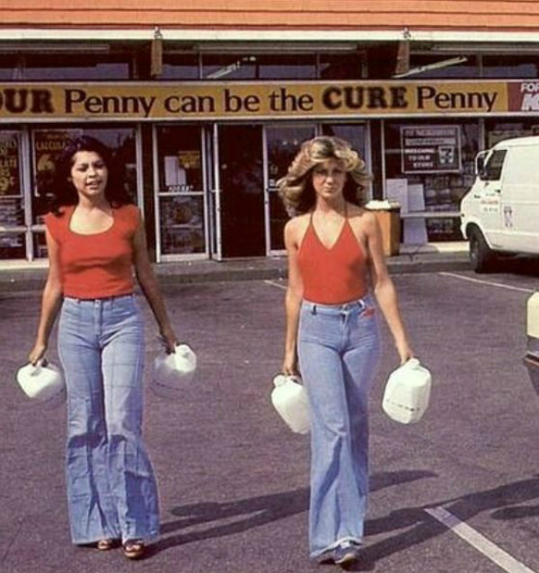 1970s bell bottoms