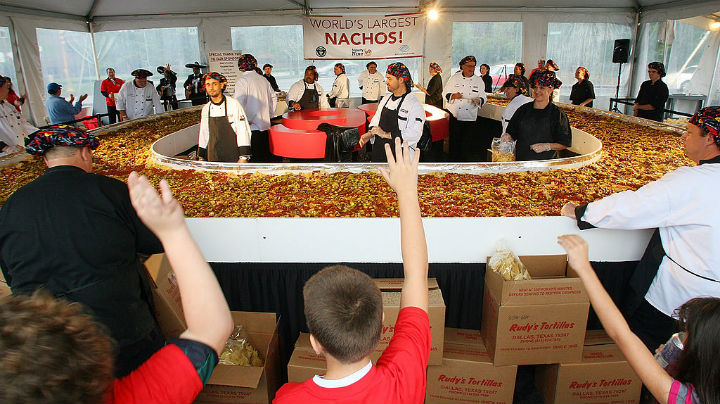 nachos mexican food giant guinness world record