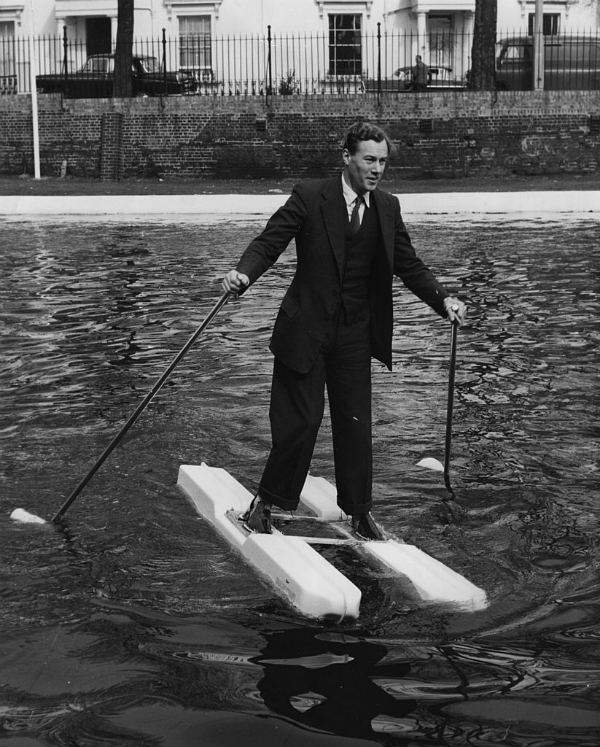 water skis futuristic inventions