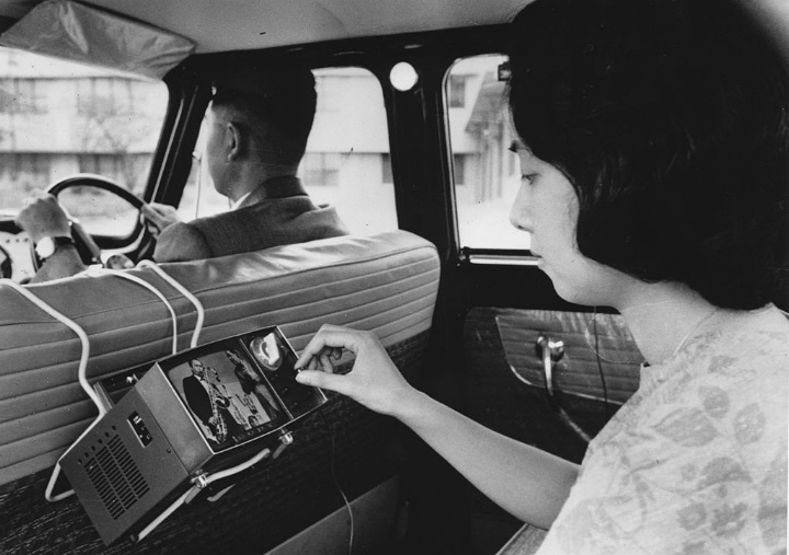 car tv television futuristic inventions