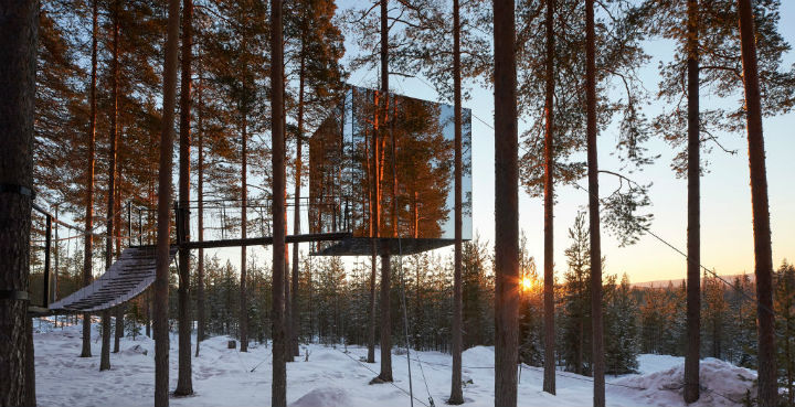 mirrorcube sweden coolest hotels