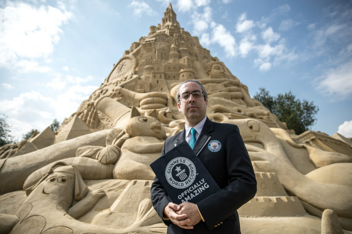 sandcastle guinness world record