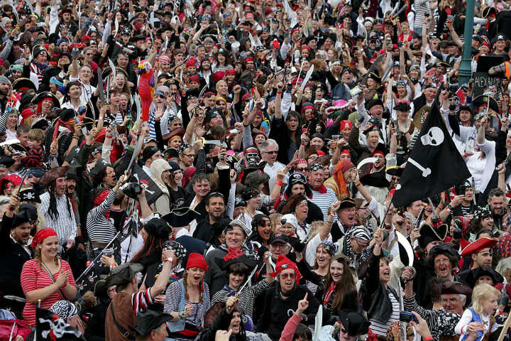 pirate group gathering guinness world record