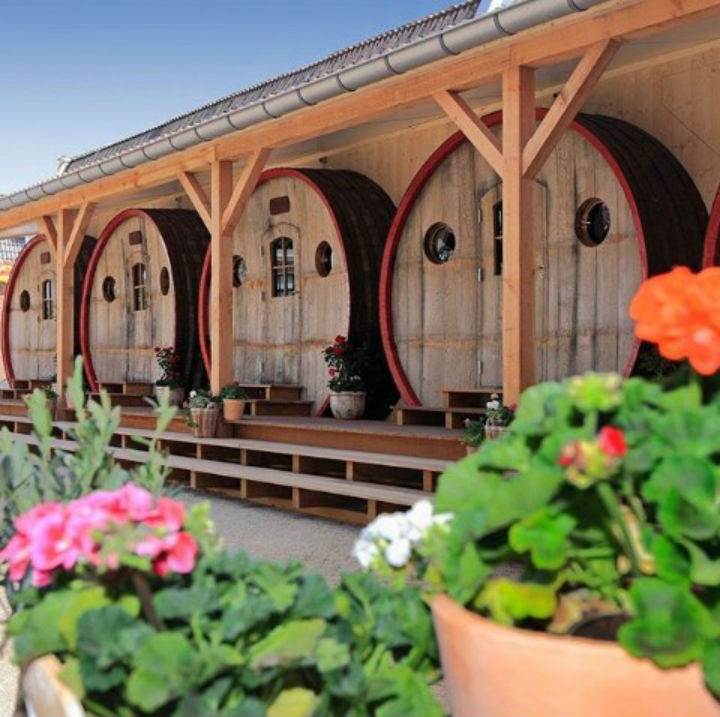 wine cask coolest hotels