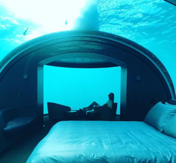 maldives coolest hotels underwater