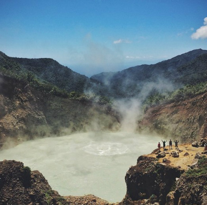 boiling lake dominica volcano dangerous places to swim
