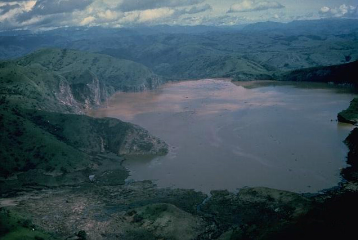 lake nyos cameroon africa volcanic dangerous places to swim swimming