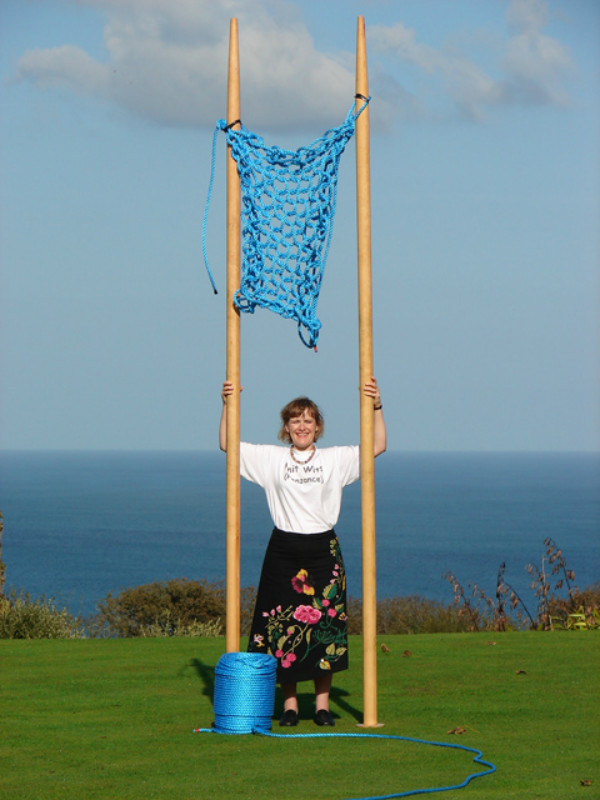 knitting needles giant guinness world record