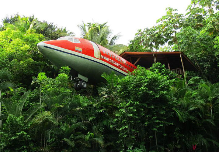 costa rica plane coolest hotels