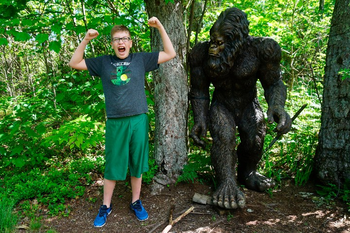 known for bigfoot
