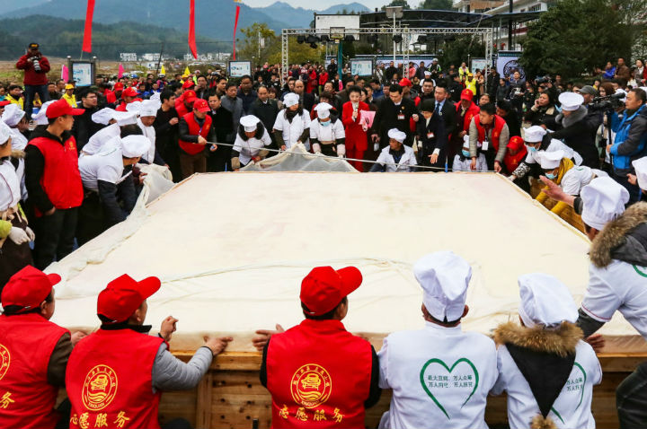giant tofu guinness world record