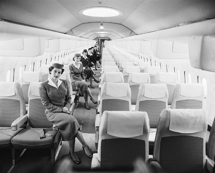 airplane flight attendants