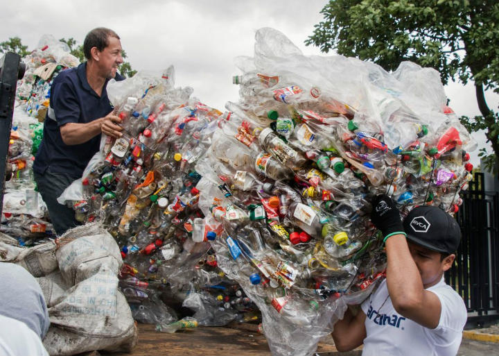 recycling costa rica guinness world record