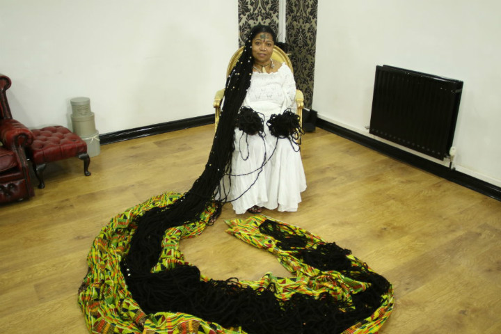 long hair dreads guinness world record