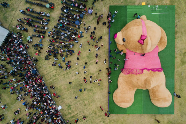 giant teddy bear guinness world record