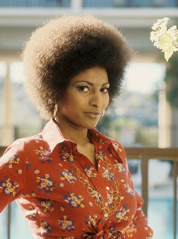 pam grier afro hair trend hairstyle