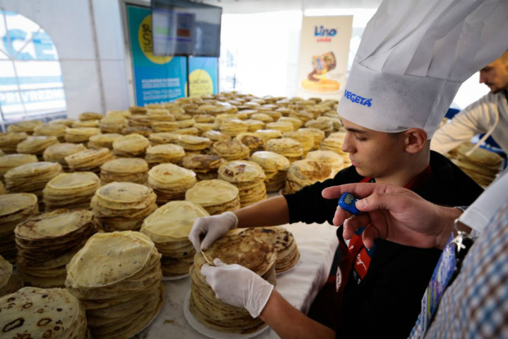 pancakes bosnia and herzegovina guinness world record