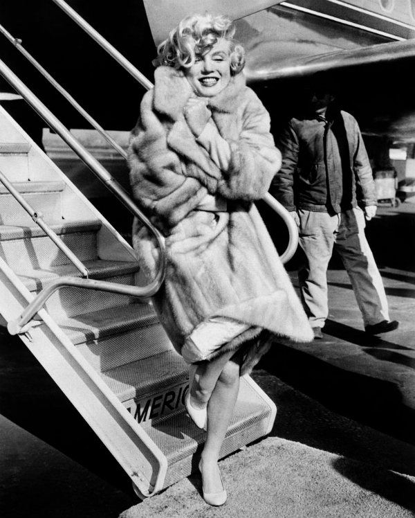 Marilyn Monroe - vintage travel