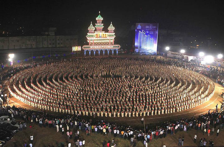 dance india guinness world record