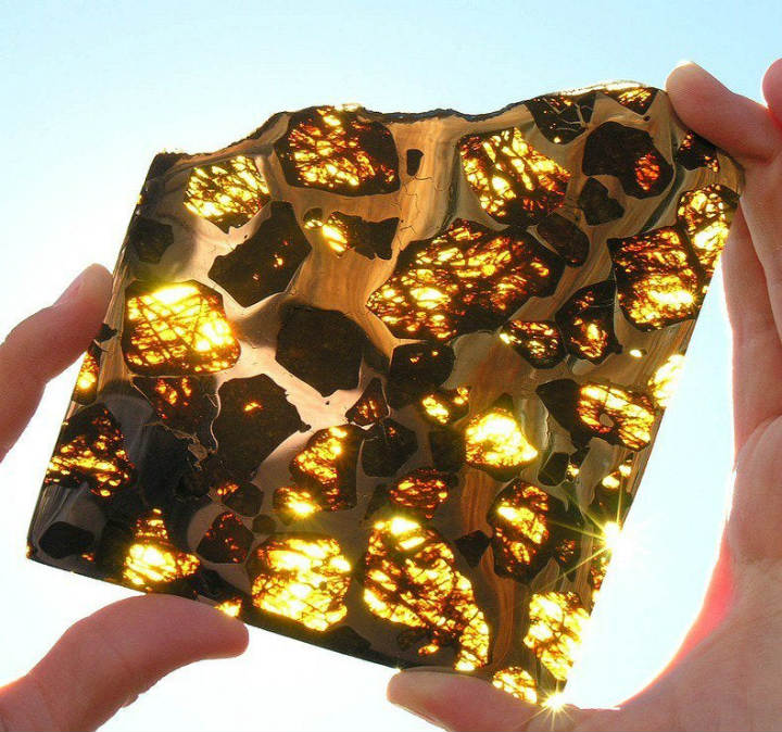 fukang meteorite inside everyday objects