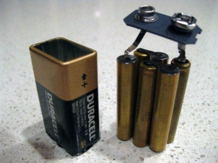 batteries everyday objects