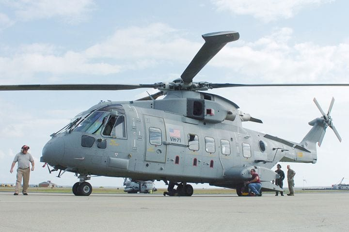 expensive military programs - vh-71