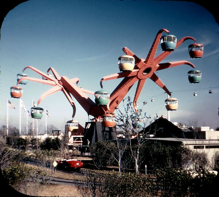 Astroworld - bygone tourist attractions