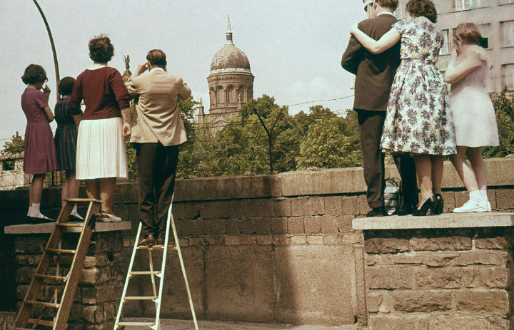 Berlin Wall - bygone tourist attractions