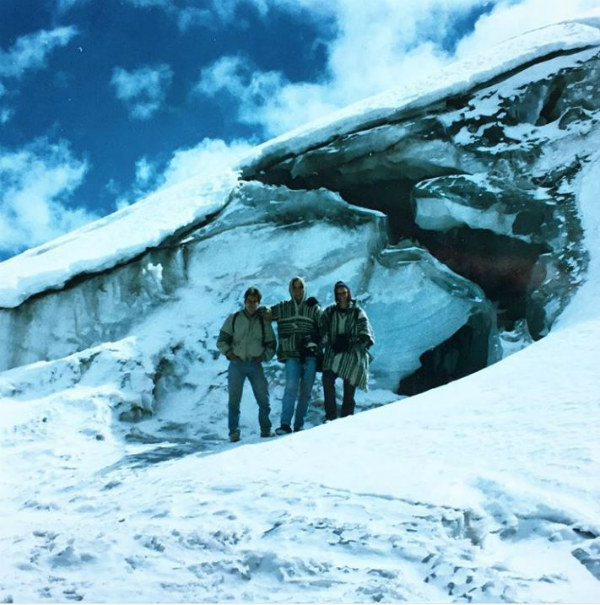 Chacaltaya glacier- bygone tourist attractions