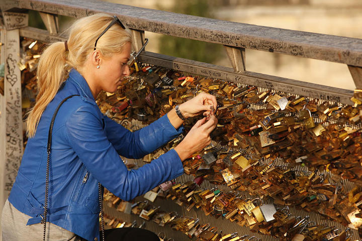 Love Locks - bygone tourist attractions