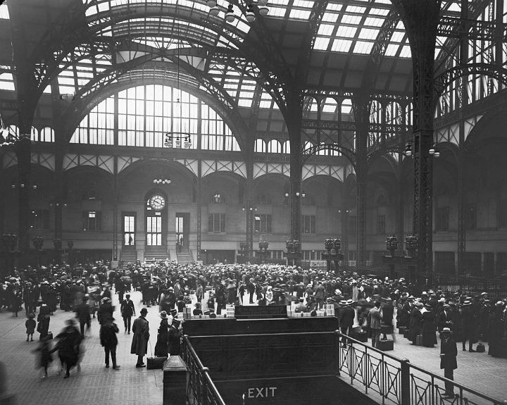 Penn Station - bygone tourist attractions