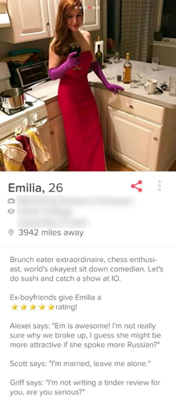 Hysterical Tinder Bios That Deserve Right Swipes, For