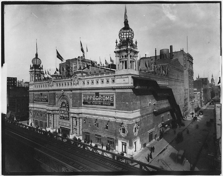 The Hippodrome - bygone tourist attractions