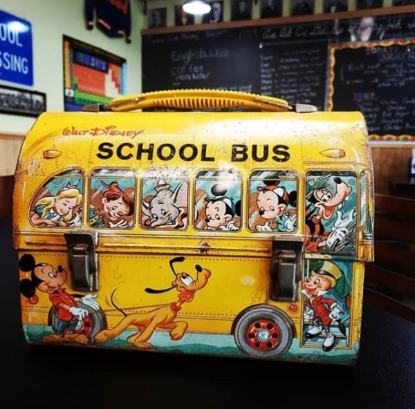 Vintage lunch box,